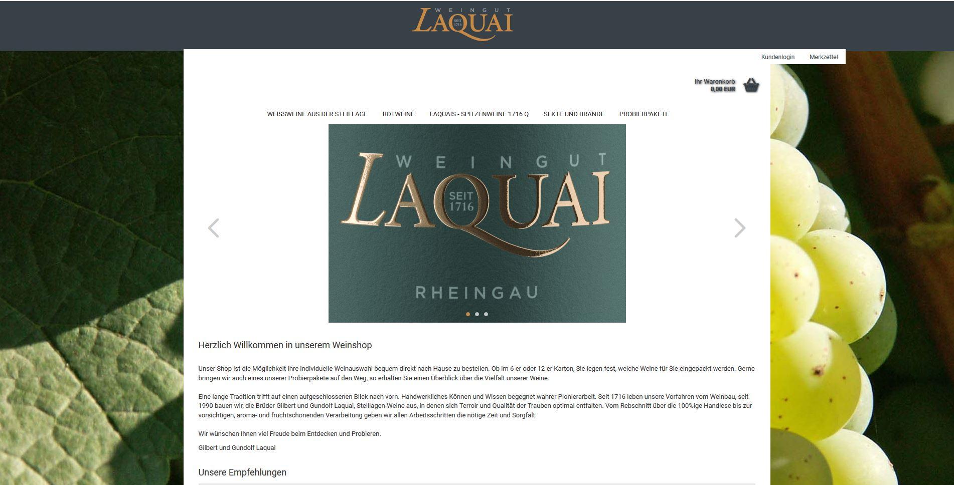 Weinshop Laquai